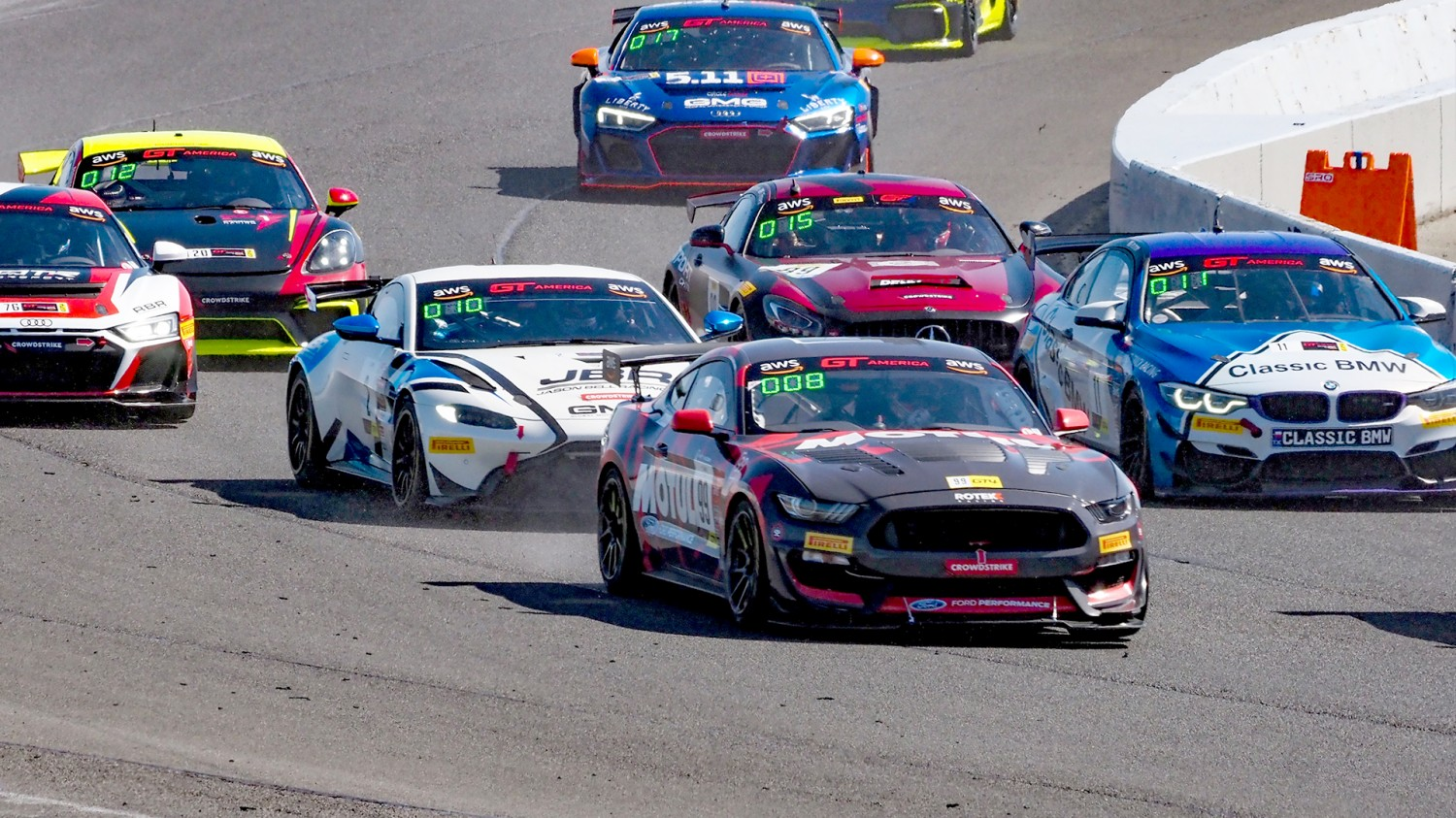 Kurtz Sweeps Weekend, Luck Takes Masters, Holland Wins GT4 Battles