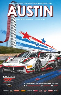 Circuit of the Americas Poster