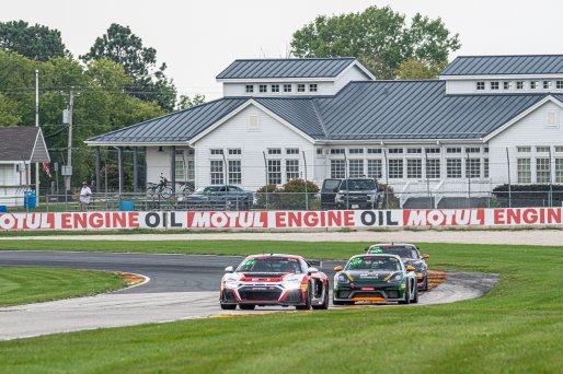 #76 Audi R8 LMS GT4 of Alex Welch, ROTR Motorsport, GT America Powered by AWS, GT4, SRO America, Road America, Elkhart Lake, Aug 2021.